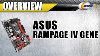 Newegg TV_ ASUS Rampage IV Gene LGA 2011 Intel X79 Micro ATX Motherboard Overview