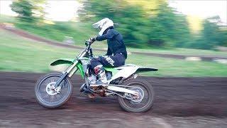 PURE KX125 TWO STROKE SOUND! + NEW Dirt Bike...
