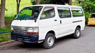 2003 Toyota Hiace Diesel 4WD Cargo Van LH119 (Canada Import) Japan Auction Purchase Review
