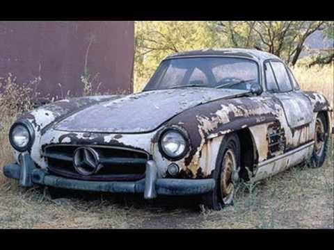 coches abandonados y olvidados