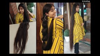 Easy Cute Hairstyle For Girls | Extremely Long Hair | Real Rapunzel | Haircut Expert by Shyama's
