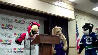 (P2) Mascot Games Press Conference, Scotty B July 2014