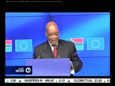 Zuma meets EU leaders to strengthen trade relations