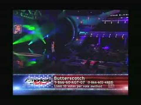 Butterscotch on Americas Got Talent Round 3