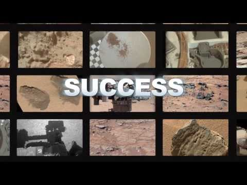 Curiosity Rover Celebrates Its First Year on Mars | NASA JPL Space Science HD