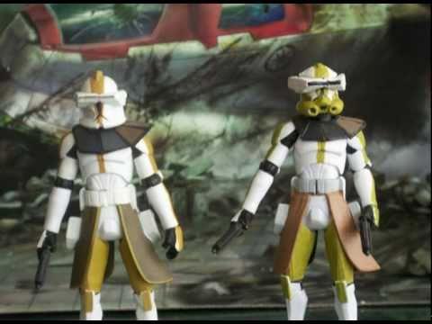 Star Wars Clones Phase 1 Star Wars Custom Clone Trooper