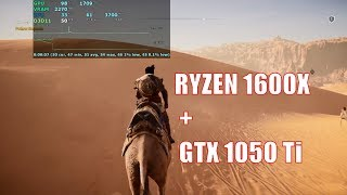 Ryzen 1600x with gtx 1050 ti Tested in 23 Games , 2018