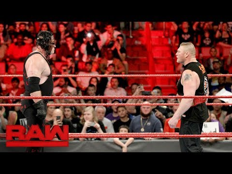 Brock Lesnar steps into the fire with Kane: Raw, Jan. 1, 2018 thumbnail