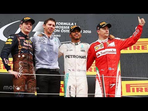 F1 2016 Austrian GP  Podium