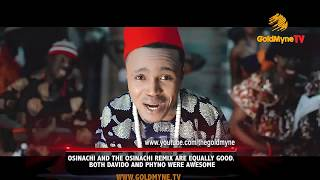 """OSINACHI AND THE REMIX ARE EQUALLY GOOD. BOTH DAVIDO AND PHYNO WERE AWESOME"" - HUMBLESMITH"