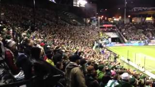 Timbers Army PTFC vs Sounders 11/8/13
