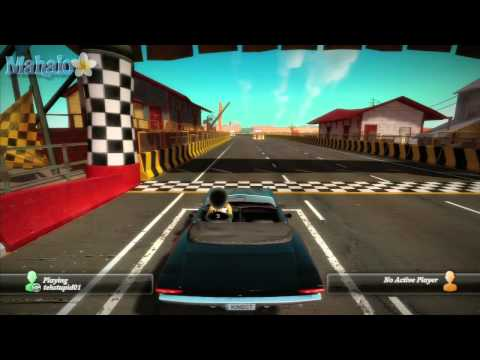 Kinect Joy Ride - Dash - Badlands Freeway