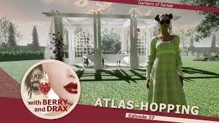 Atlas-Hopping in Sansar with Berry & Drax - Episode 37 - May 12th 2018 @ 11am PST