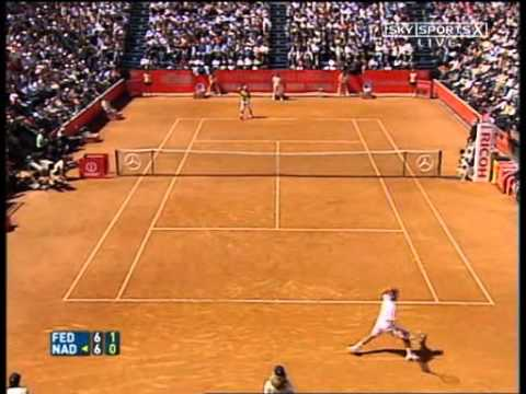 Roger Federer vs Rafael Nadal -- Rome 2006 Final [Highlights] (1/2)