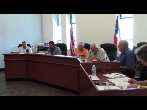 Karnes County Commissioners Court - July 16, 2015 - Part 1 of 2