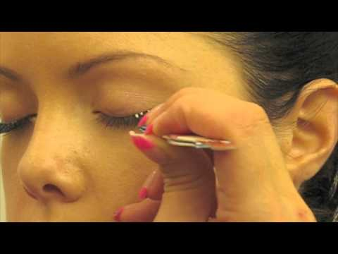How to apply Individual False Eyelashes - Cluster Style