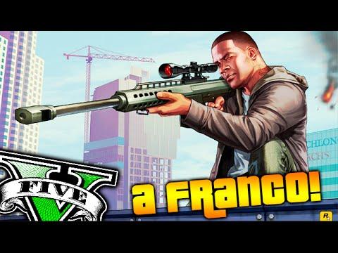 A FRANCAZOS!! COMO REPARTO!! De Puente a Puente a Francotirador GTA V ONLINE Makiman