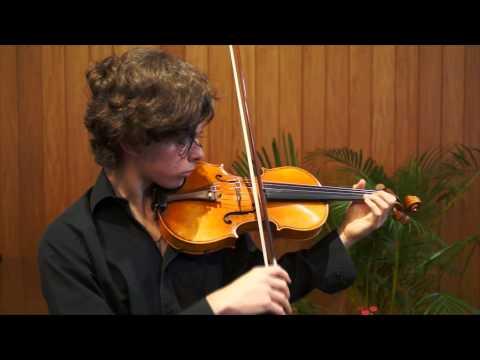 Igor Garcia - Manhattan School of Music - Pre-screening audition - Sibeluis Concierto 1st Mov.