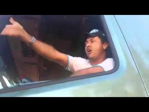 Motorista revoltado com a fila de caminhao para carregar .....mas bah gaucho