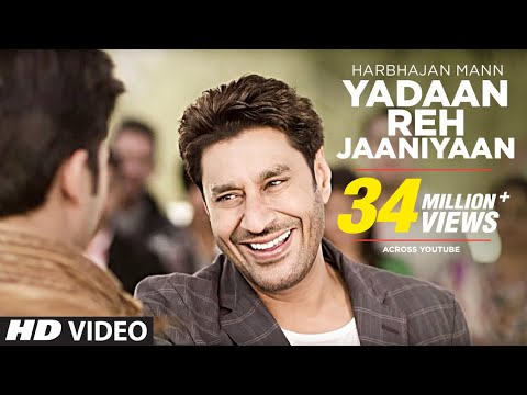 Yadaan Reh Jaaniyaan Harbhajan Mann (official) Full Video Song | Satrangi Peengh 2 video
