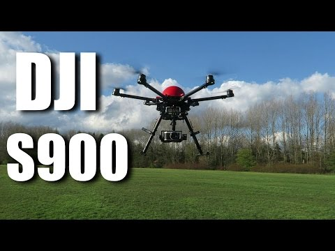 DJI S900 & Two Phantom 4's