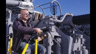 Sabaton Vlog - First Boston show, Battleship New Jersey.