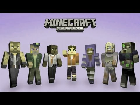 Minecraft - Xbox 360 Edition Mods - Custom Skins - WiZARD HAX