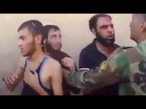 kurdish peshmarga.. catching 3 ISIS members.