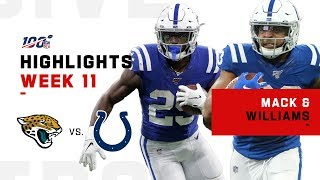 Marlon Mack & Jonathan Williams Combine for 250+ Yards! | NFL 2019 Highlights