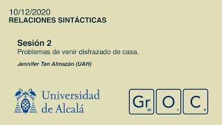 Jornadas GrOC de actualización gramatical - Sesión 2 (10 dic)