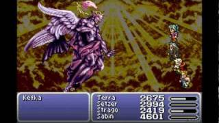 Final Fantasy VI Advance - Final Boss: Kefka