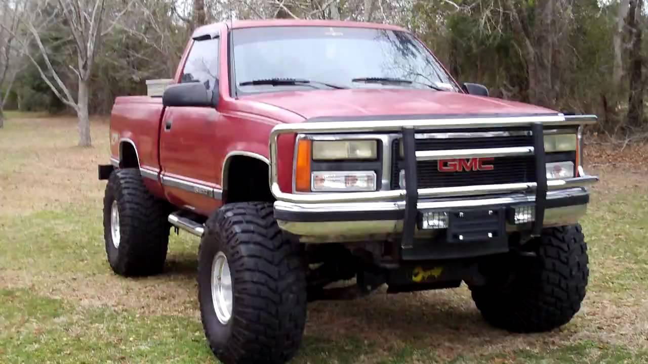 1990 gmc sierra 4x4 m t baja claws lifted sold   youtube