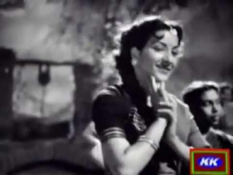 Chhodo Babul Ka Ghar Shamshad Begum  BABUL 1950 (KK).mpg