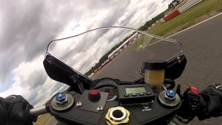 Spreewaldring 27.06.2013 - GSX-R 750 - Training - Turn 2