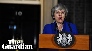 'This is the time to put self-interest aside': May in Brexit plea outside No 10
