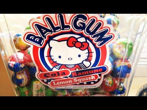 ハローキティ  ガムボールマシーン HelloKitty Gum ball machine