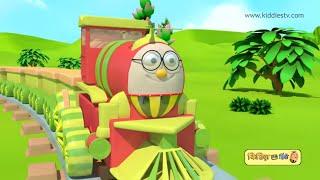 Humpty the train has fun with his vegetable friends hindi song | Hindi kids song | Kiddiestv hindi