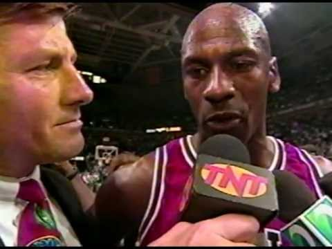 Michael Jordan - 70 wins, post-game 1996