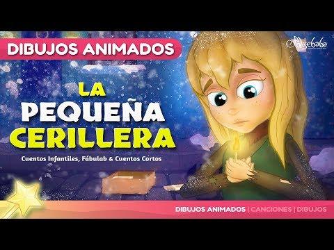 La Pequeña Cerillera cuento para niños | Cuentos infantiles en Español | dibujos animados