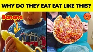 The Weirdest Ways People Eat And Drink Things 😖