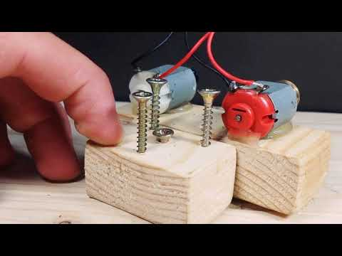 How to make a free energy bulb generater from dc motor thumbnail