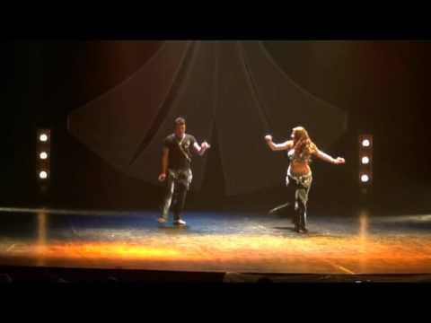 BellyArabian Mayo 2012 - Gada Kanaan y David Calderon