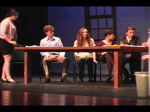 "Farmington High School presents ""12 Angry Jurors"" Act I"