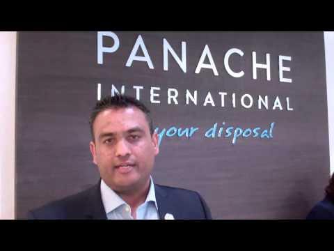 VISHAAL SHAH - CEO of Panache International talks to WILLIAM FARIA