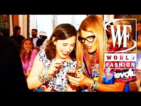 Front Row Stella Jean Spring-Summer 2015 Milan Fashion Week