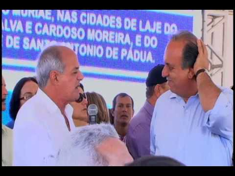 Nova Opção Notícias-Lançamentos das Obras do Rio Pomba