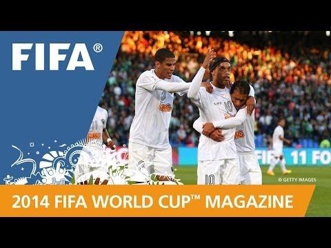 Mineiro, Ronaldinho at the FIFA Club World Cup