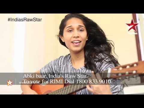 India's Raw Star Web Exclusive: Vote for Raw Star Rimi!