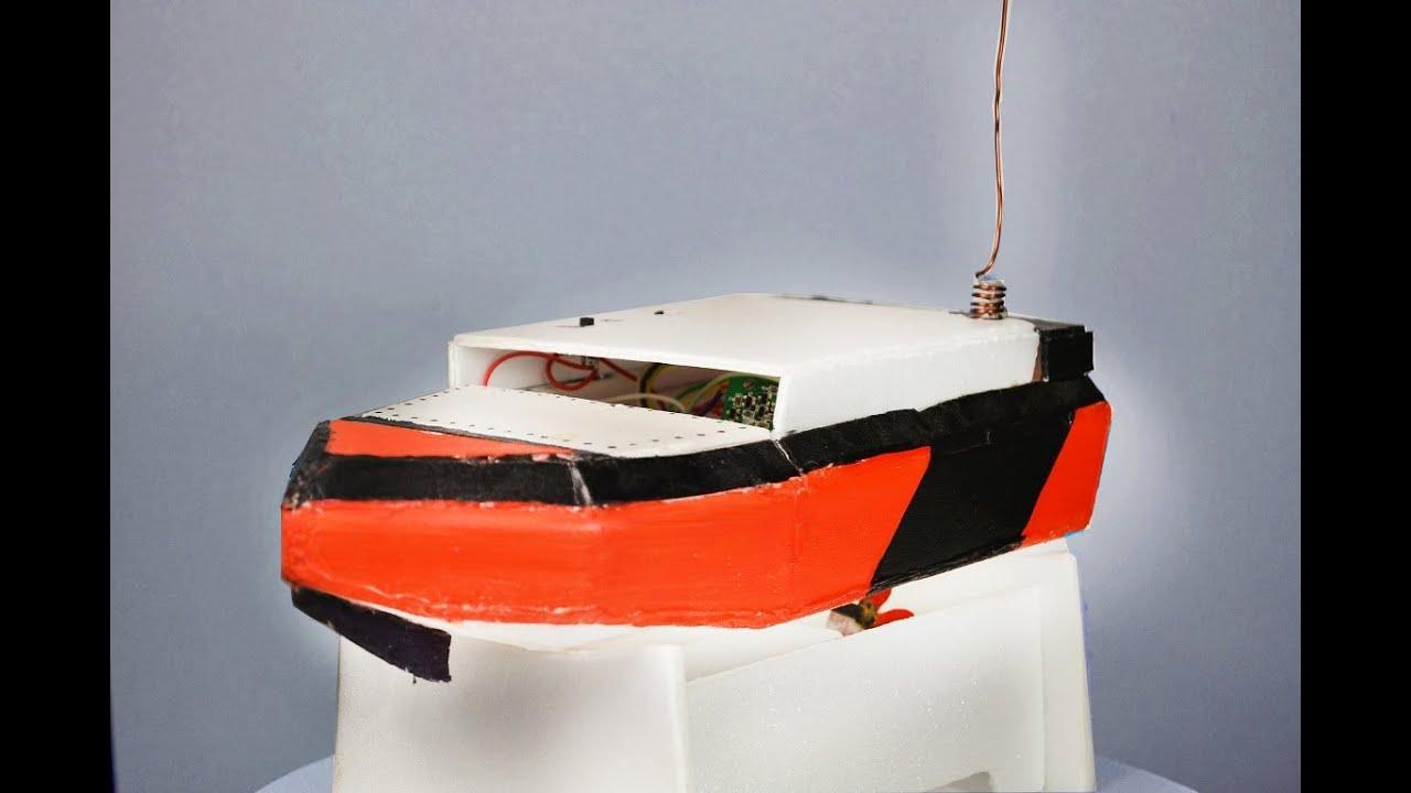 Прикормочный кораблик своими руками из пенопласта 36