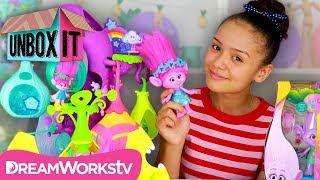 HUGE Trolls Toy Haul! (Trolls Camp Critter Pod + Poppy & Troll Baby) | UNBOX IT